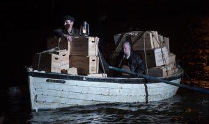 "11.09.15 Whisky Galore Callsheet No 39 sc 68 EXT OPEN SEA Heavily laden boats weighed down with boxes Linda Gamble, Unit Publicist -Jen Rooks Production Co-ordinator Whisky Galore T: 0141 258 3452 M: 07732 065 997 E: jennifer.rooks@gmail.com PRODUCTION OFFICE: Whisky Galore Movie LTD / 2nd Floor / Suite 17 / Alexander Stephen House / 91 Holmfauld Road / Glasgow /  G51 4RY  REGISTERED BUSINESS ADDRESS: 76 Dumbarton Road / Clydebank / G81 1UG Credit ; Graeme Hunter Pictures, Sunnybank Cottages.  117 Waterside Rd, Carmunnock, Glasgow. U.K.  G76 9DU.   t.  01416444564  m. 07811946280  e.  graemehunter@mac.com"" w. www.stills.tv"