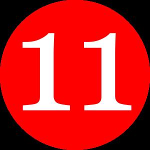 number-11-clip-art-dtf32iv